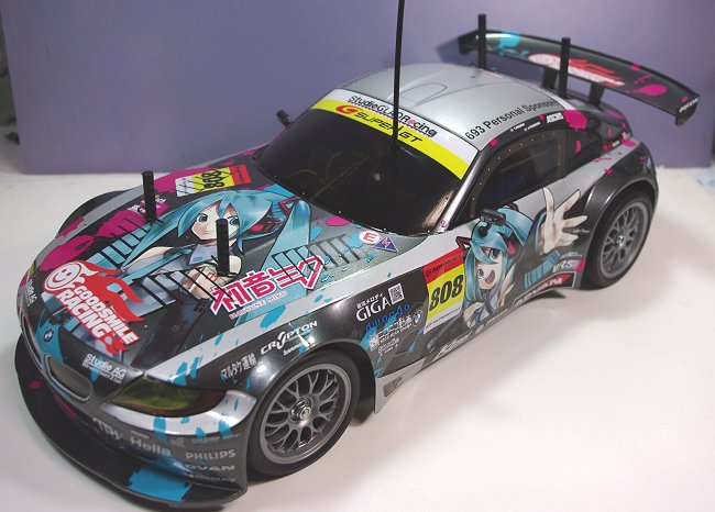 初音ミク Studie Glad Bmw Z4 Rc